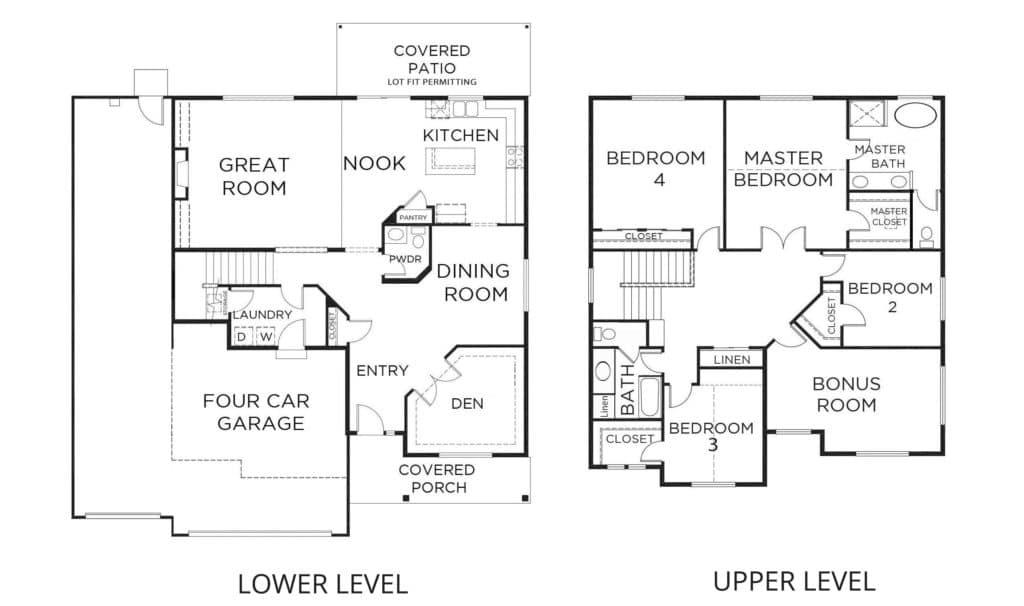 new-homes-bonney-lake-wa-3031-teton 4car-prairie-landing-floorplan