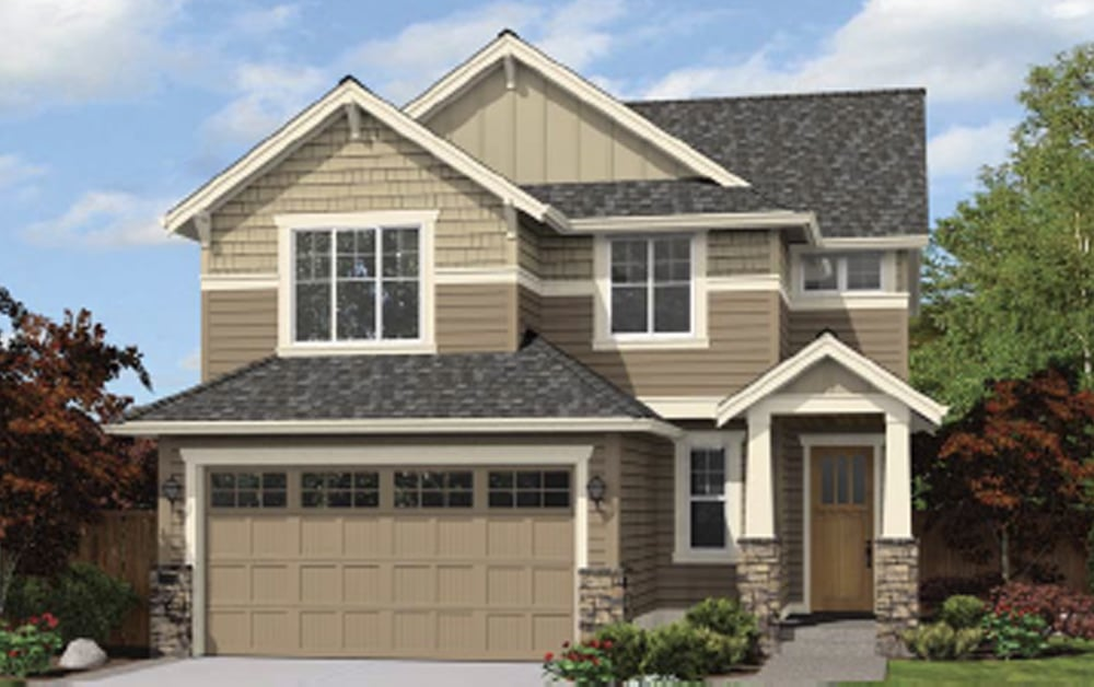 The Willow plan at Saratoga by Soundbuilt Homes
