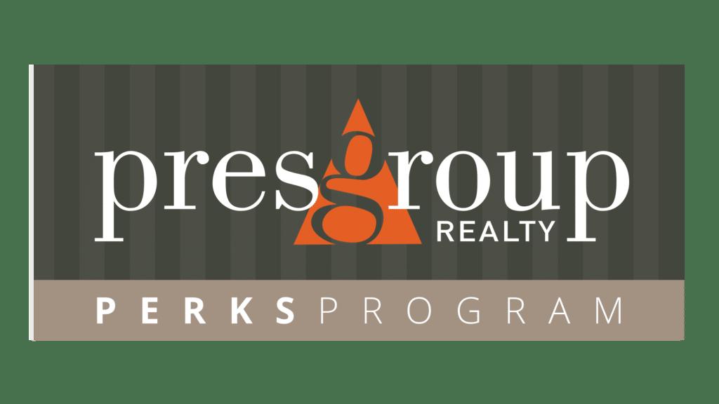 PresGroup Realty Perks Program Logo FINAL