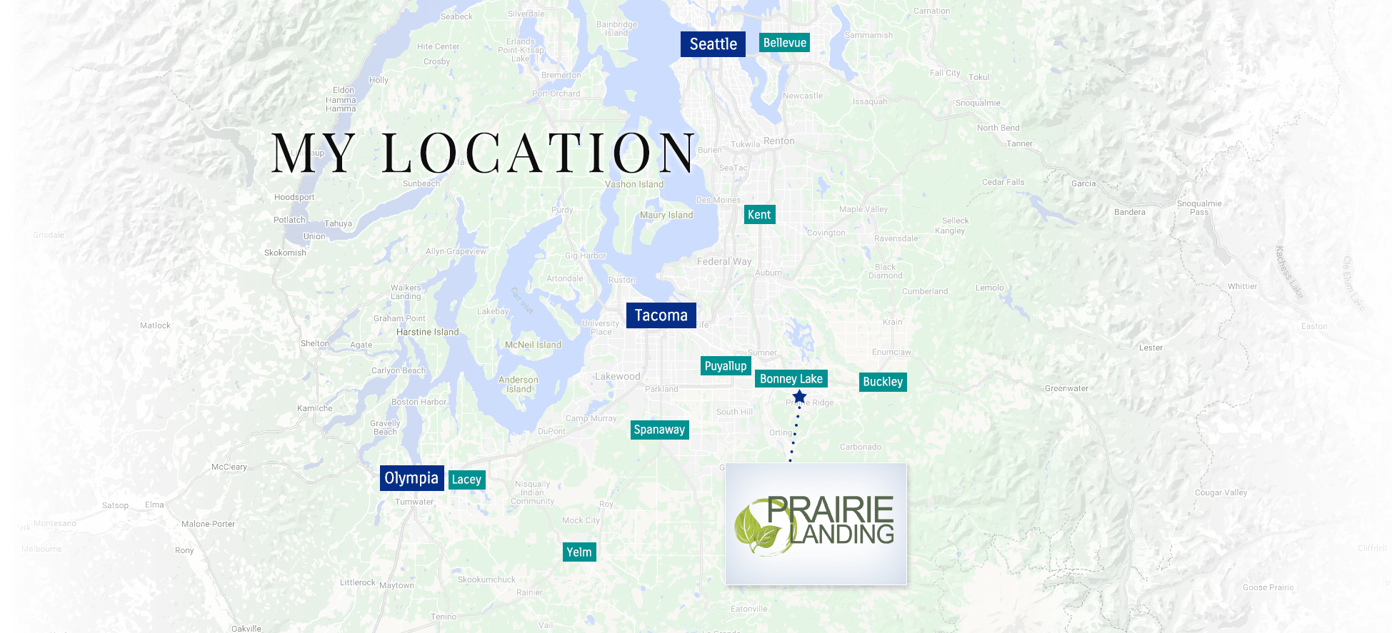 prairie landing locatin map