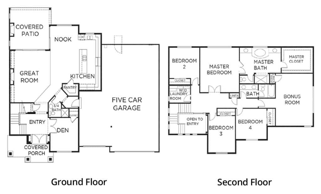 presgroup-coronado-plan-3135-5-car-floorplan-labels