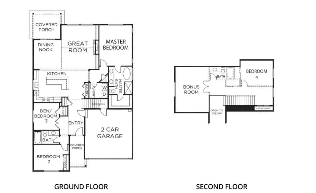 2470 Camden A2 Orting Floorplan