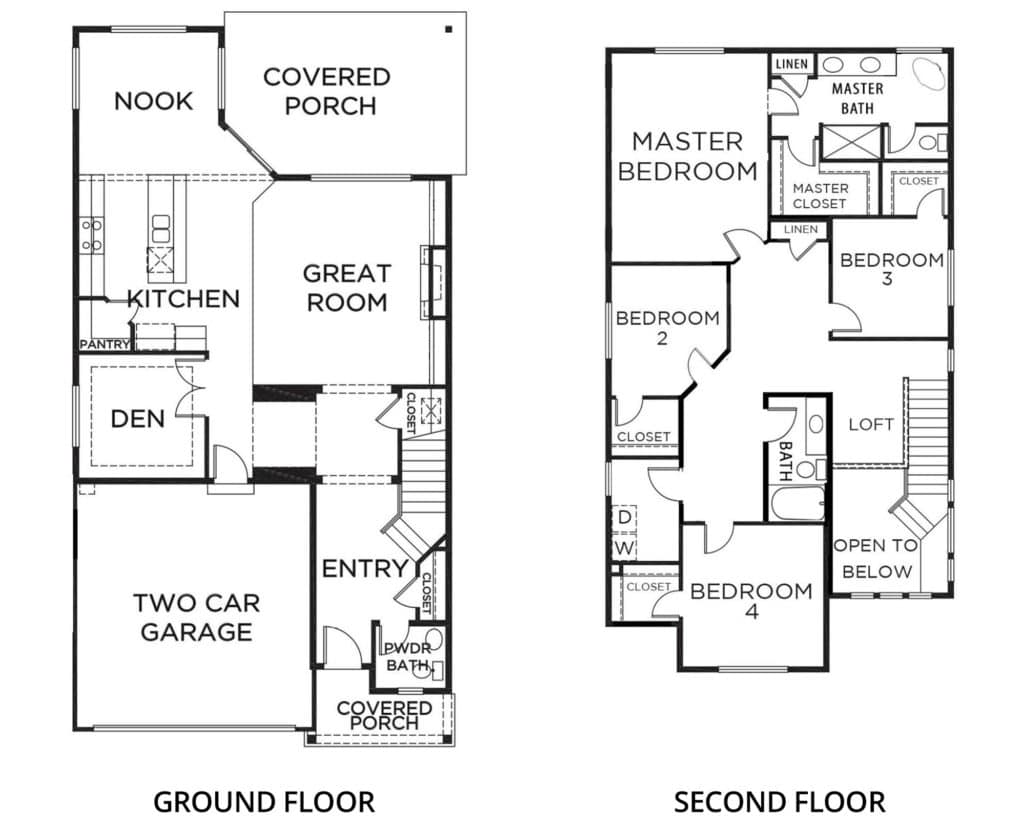 2482 Blossom A2 Orting Floorplan