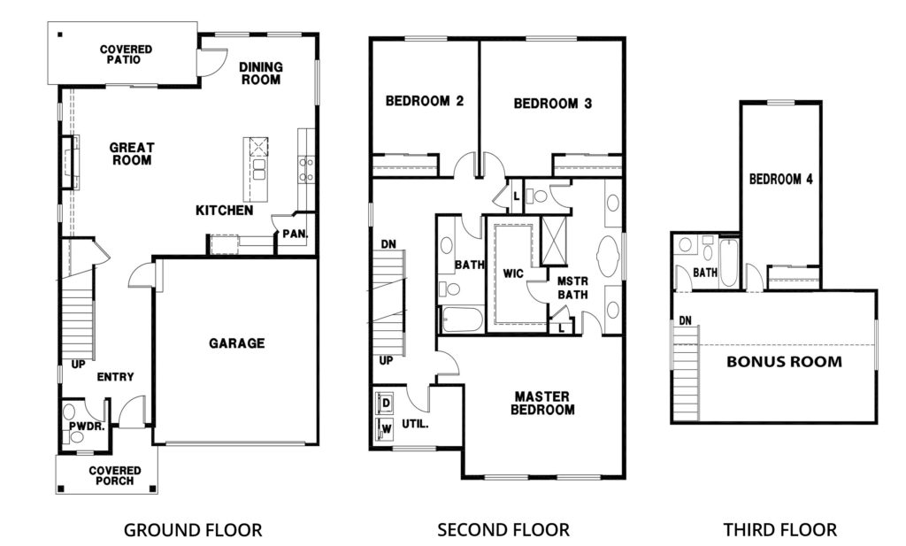 2817 Hemlock 2-car Orting Floorplan